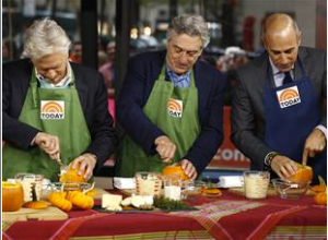 Today Show_Kevin Kline_Robert DeNiro_Matt Lauer_Cook with Chef John Nash